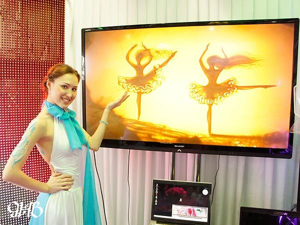 Песочное шоу на выставке Wedding Show Urals 2013.