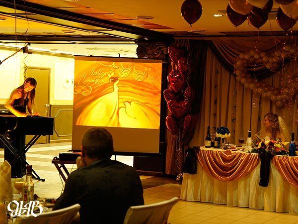 Шоу песка на свадьбе в Екатеринбурге.