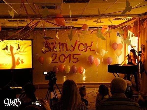 Песочное шоу на выпускном детского сада в Екатеринбурге.