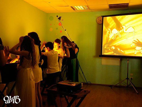 Песочное шоу на выпускном в Екатеринбурге.