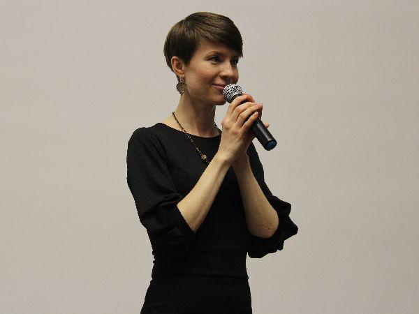 Надежда Валова в жюри на фестивале песочной анимации «Дюны» в Кургане.