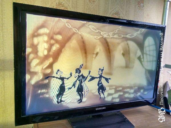 Песочно-теневой спектакль «Аладдин»: подготовка.