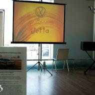 Песочное шоу Надежды Валовой на презентации VW Jetta.