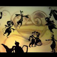 Песочно-теневой спектакль «Аладдин»: премьера в Москве. Фото - Алексей Ерохин.
